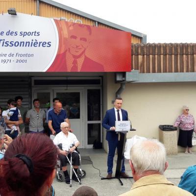 Inauguration salle tissonnieres